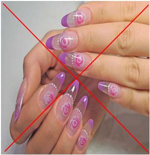 маникюр на короткие ногти фото цветы